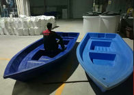 4000 * 1460 * 460 Mm Eight Persons Large Roto Molded Plastic Boats 1250kg Load