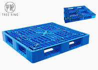 Double Deck Reversible Hdpe Plastic Pallets Stackable With 6 Reinforcement Bar