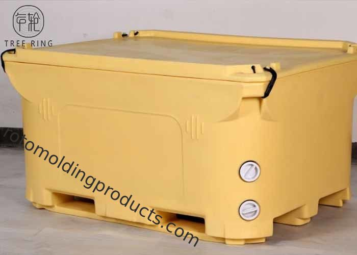 600L Roto Molded Cooler Box , Durability Fishingice Chest That Keeps Ice For Days