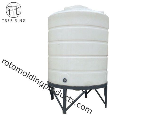 CPT10000L Agricultural Rotomolding Products 15 Deg Cone Bottom With Steel Stand