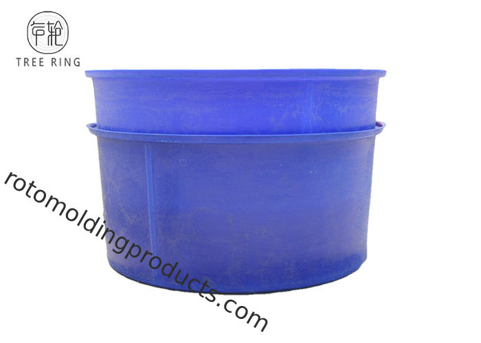5000 Litre Plastic Cattle Drinking Troughs PE Rigid Round Raised Preformed Koi Pond Liners
